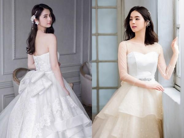 ▲佐佐木希最喜歡白色婚紗。(圖/翻攝自日網《FANCY》)