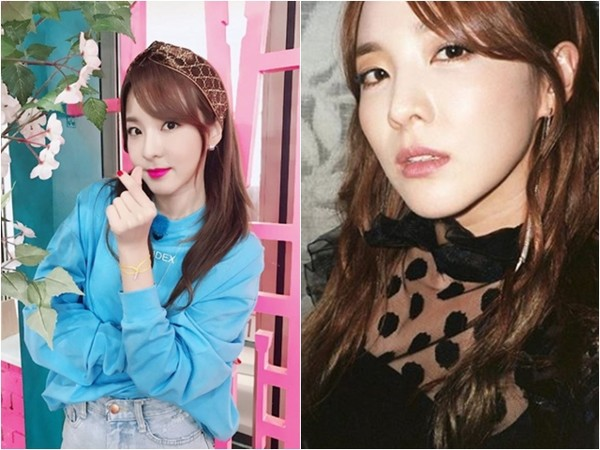 太妍、DARA、Yuju、燦烈、秀賢、Amber。(圖/翻攝自IG)