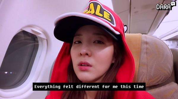 ▲3年沒拿起麥克風 Dara因為GD圓夢:春跟CL應該要在的(圖/翻攝自YouTube DARA TV)
