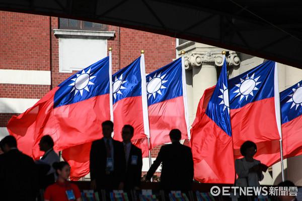 ▲慶祝106年國慶大會。(圖/記者林世文攝)