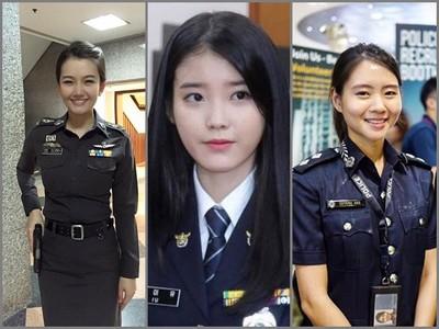 亞洲6國女警比一比,還是韓國跟台灣的最正!