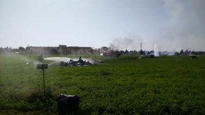西班牙國慶日閱兵戰機墜毀