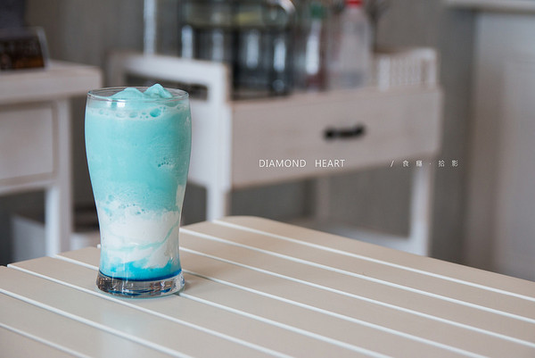 ▲新店美食Diamond Heart Salon & Cafe。(圖/食癮,拾影提供)