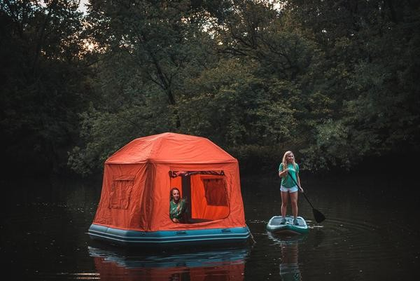 ▲▼水上帳篷             。(圖/翻攝自SmithFly官網)