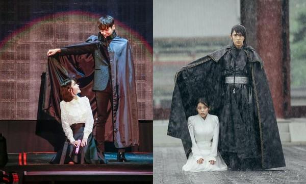 IU上週末為G-Dragon《ACT III, M.O.T.T.E》演唱會台北場擔任嘉賓。(主辦單位提供)