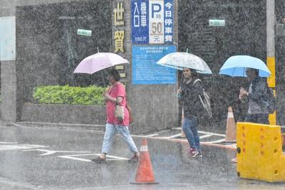 北北基、南高屏持續大雨特報!