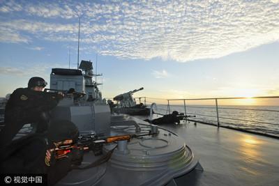 中俄海上聯合軍演將在青島登場