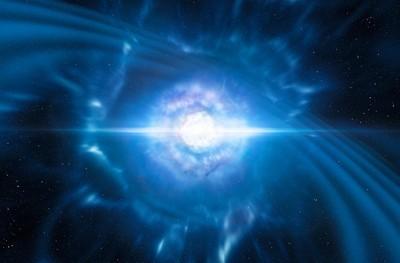 人類首次發現中子星碰撞產生重力波