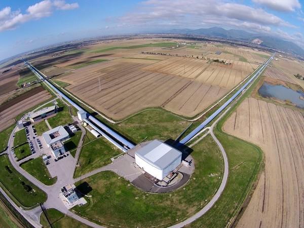 ▲▼處女座重力波天文台。(圖/翻攝自 LIGO Laboratory Courtesy)