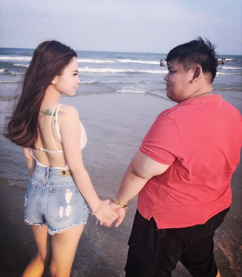 超勵志!重量級肥宅收服網拍女神, 爽當2年情侶…還會交下去(圖/翻攝自FB)