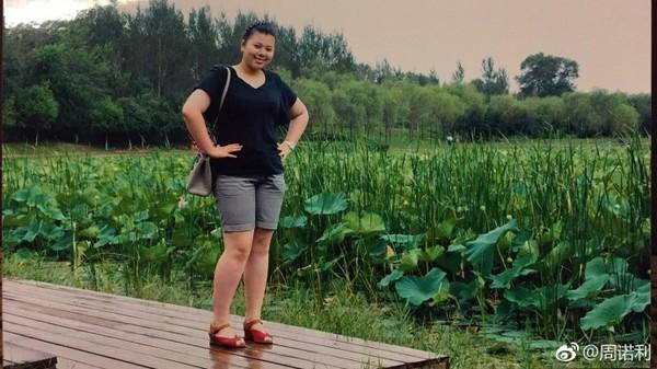 ▲▼遼寧周諾利半年減30公斤,從胖妞成功逆襲成性感女神。(圖/翻攝自周諾利微博)