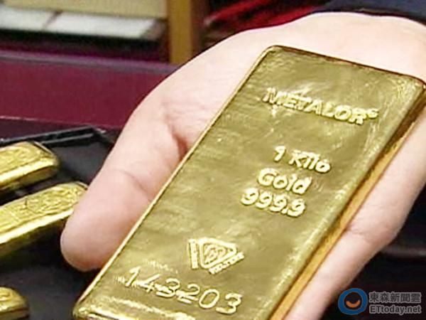 金價短線崩跌!買進2公斤黃金大省40萬
