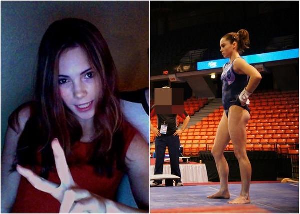 ▲美國前體操選手馬羅尼自爆遭隊醫納薩爾性侵。(圖/翻攝自McKayla Maroney fb)