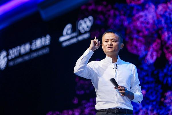 ▲▼2017杭州雲棲大會,阿里,阿里巴巴,馬雲。(圖/視覺中國)