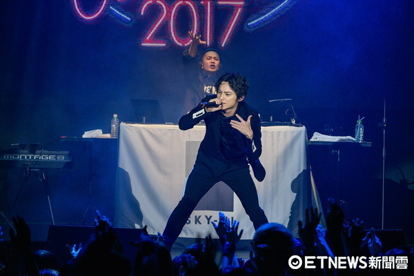 ▲▼AAA超人氣團員-日高光啟( SKY- HI)演唱會。(圖/記者張一中攝)