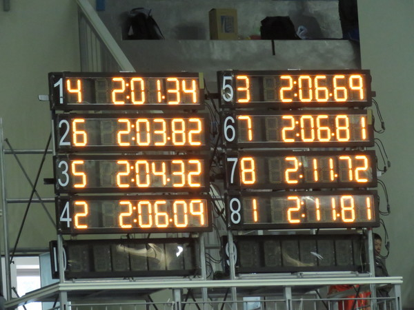 ▲2017全運會,安廷耀200公尺混合式破全國摘金。(圖/全運會提供)
