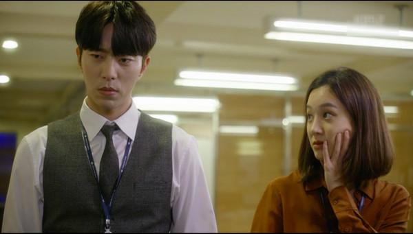 ▲《魔女的法庭》鄭麗媛與尹賢旻。(圖/CHOCO TV提供)