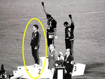 挺黑人被封殺,世界第二快運動員,到死沒再踏上田徑場