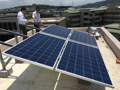 建案加裝太陽能板 住戶每月賺3500元