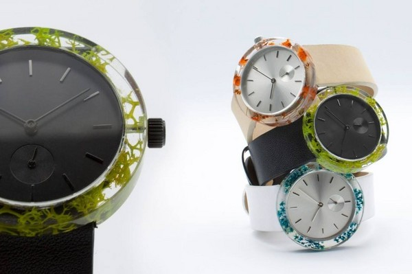 ▲小清新手錶Botanist Watch(圖/翻攝自Analog Watch Co. Facebook、www.kickstarter.com)