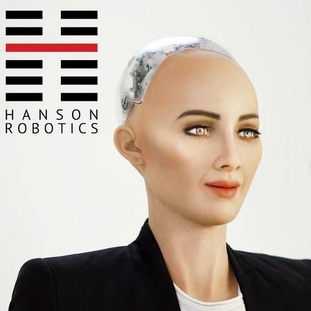 ▲▼第一個拿到公民身份的AI機器人Sophia。(圖/翻攝自Hanson Robotics Limited)