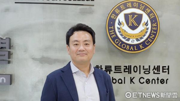 ▲韓流培訓中心,朴鍾民,Cube娛樂前CEO 朴鍾民。(圖/記者謝婷婷攝)