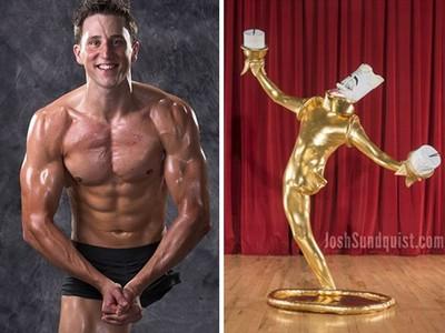 「獨腿筋肉男」稱霸萬聖節!每年變裝趴讓他暫忘骨癌痛苦