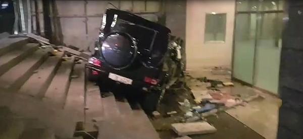 ▲金柱赫車禍現場。(圖/翻攝自SBS)