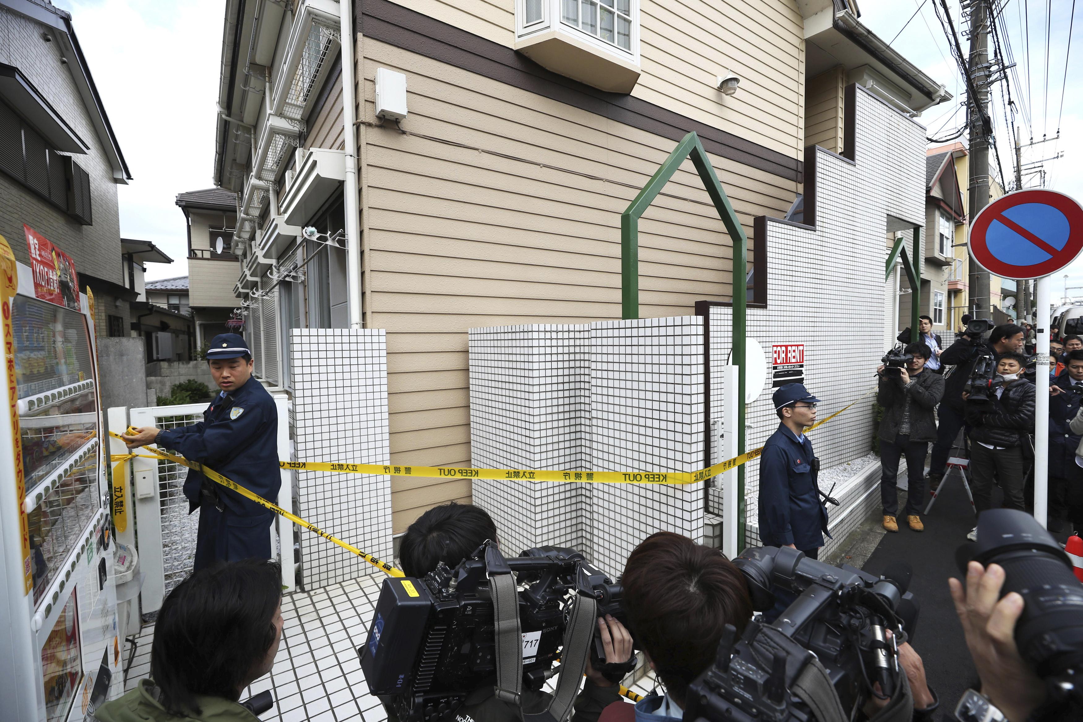 日本27歲男子白石隆浩涉嫌殺害9人分屍。(圖/達志影像/美聯社)