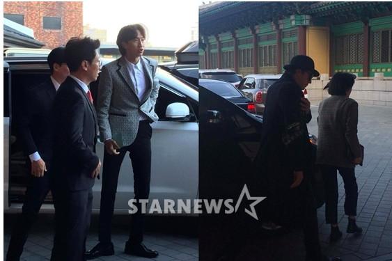 宋宋結婚嘉賓「排開全大咖」 朴寶劍、《RM》全到了(圖/翻攝自starnews、news1)