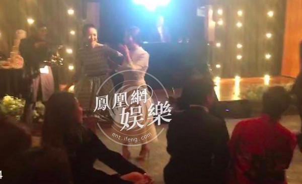 ▲▼婚禮晚宴內部影片曝光! 宋慧喬拉著章子怡跳舞玩瘋了(圖/CFP、翻攝自鳳凰網娛樂)