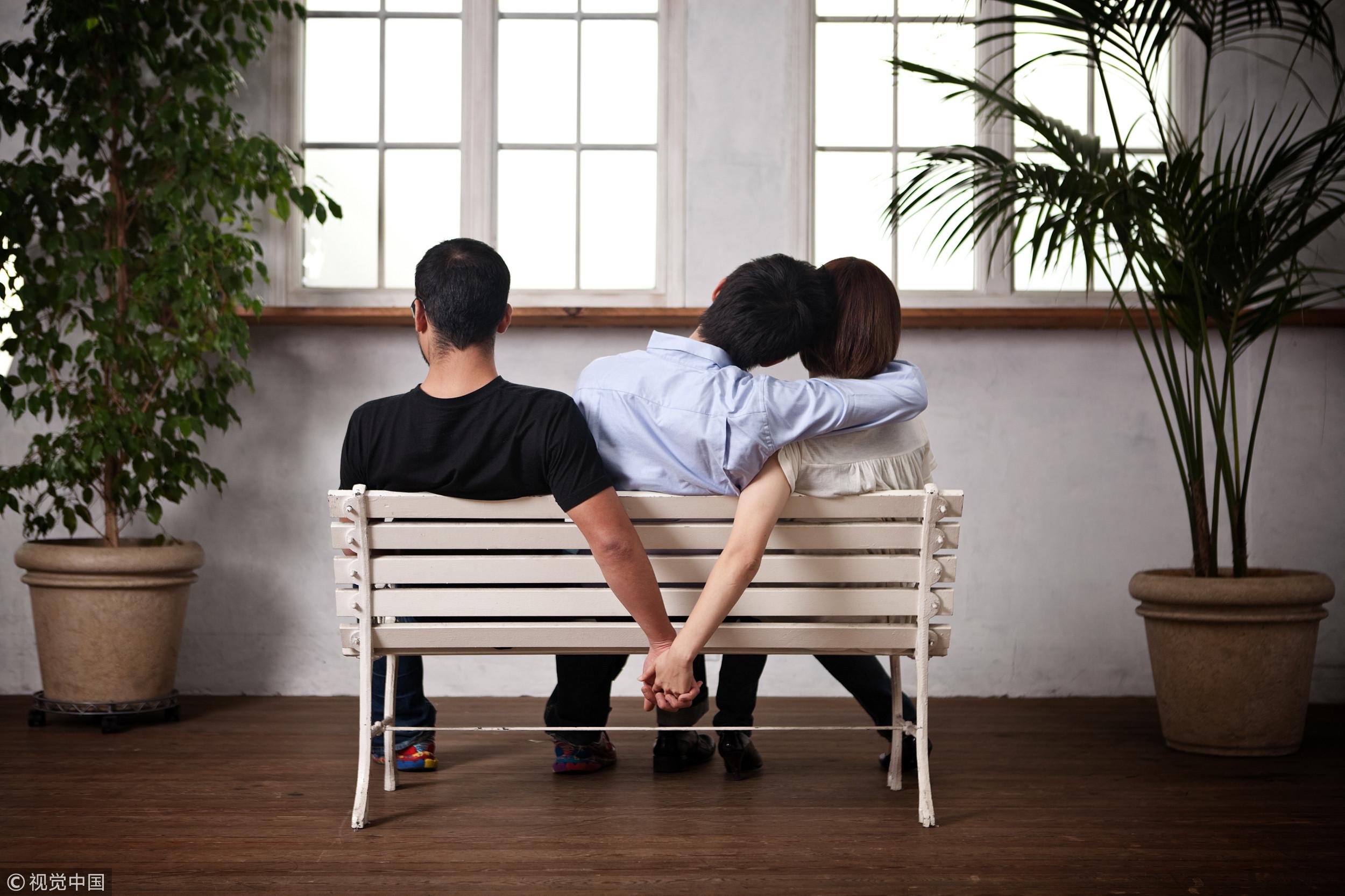 ▲感情出軌,第三者,外遇,通姦。(圖/視覺中國CFP)
