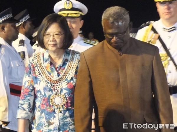 影/「台灣對我們來說完全沒用」! 索羅門總理表態了