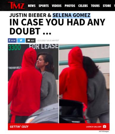 ▲▼「賈賽戀」小賈斯汀(Justin Bieber)、賽琳娜(Selena Gomez)確定復合。(圖/翻攝自TMZ)