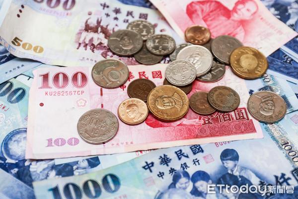 錢,現金,鈔票,銅板,金融,債務,理財,開銷,買賣(圖/記者周宸亘攝)