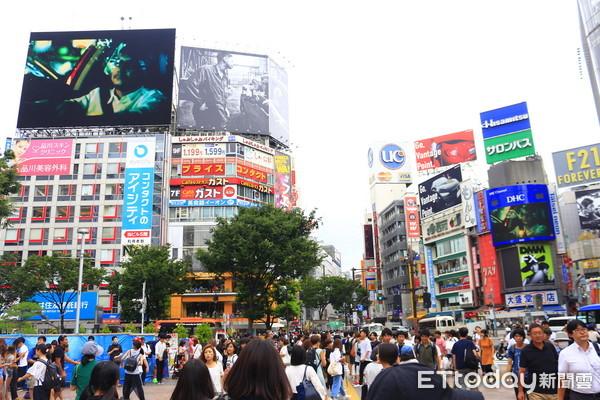 ▲▼東京涉谷街景。(圖╱記者蔡玟君攝)