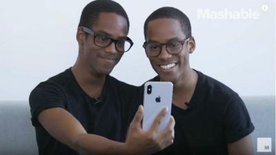 信仰崩潰?雙胞胎秒解iPhoneX 鐵粉:長一樣能解,代表技術純熟