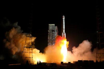 陸2020年發射「天河一號」操控甘霖