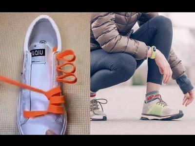 鞋子好看要靠鞋帶,讓鞋更潮的三種花式綁法