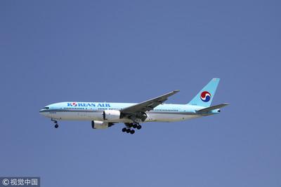 大韓航空貨艙起火!189人空中驚魂