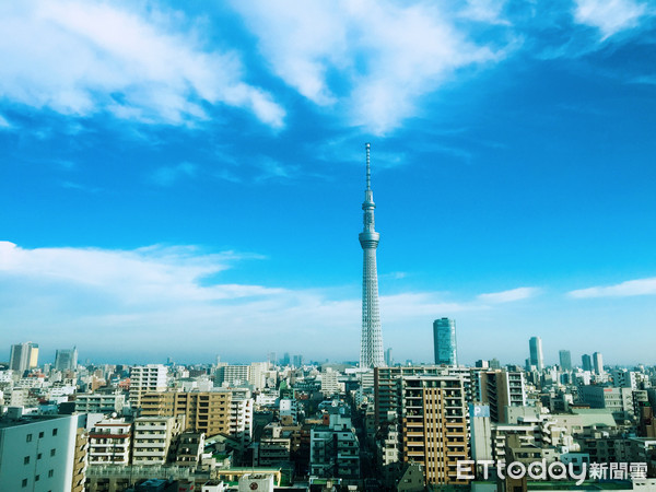 日本東京晴空塔(圖/記者徐文彬攝)