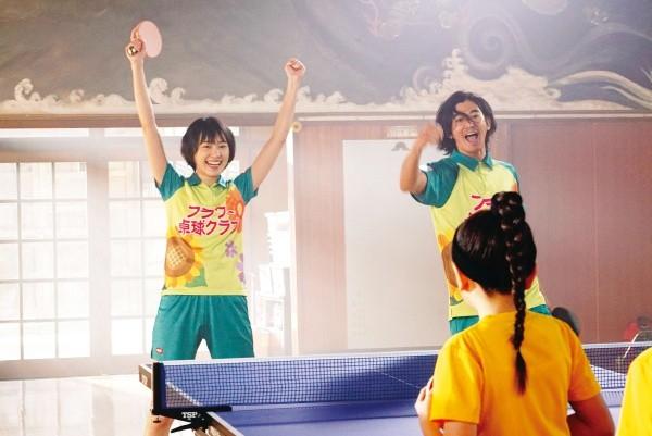 ▲《乒乓少女大逆襲》新垣結衣和瑛太飾演螢幕情侶。(圖/傳影提供)