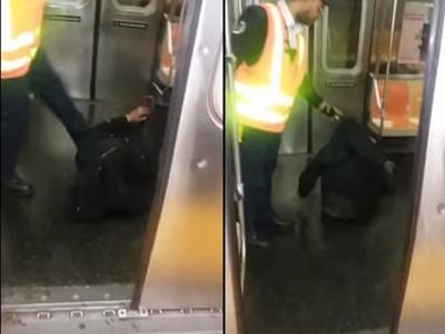 終站到了還不醒,拖行睡死醉漢,紐約地鐵員工付出慘痛代價