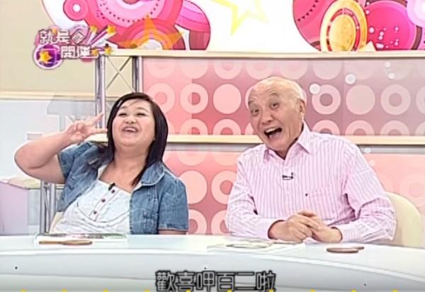 ▲▼2008年,干德门与钟欣凌上《就是要开运》宣传他们主持的银发节目《乐活120》。(图/翻摄东森YouTube)
