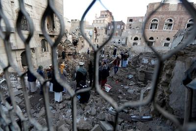 沙國復仇「胡塞」 空襲葉門首都