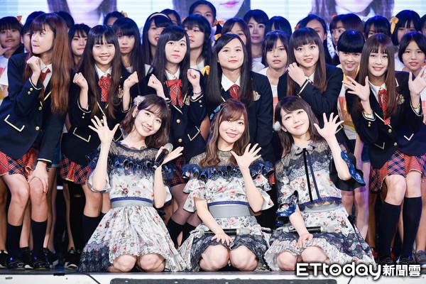 ▲▼AKB48 Group 指原莉乃 柏木由紀 峯岸南 見面會前記者會。(圖/記者張一中攝)