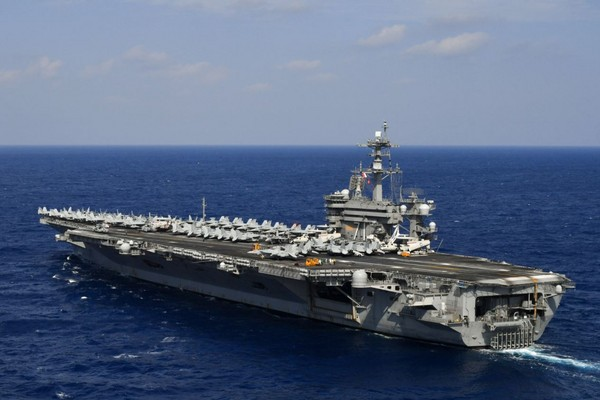 The PLA operation on the South China Sea has just ended. The ... Aircraft Carrier Schematic on