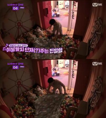 ▲Wanna One黃旼炫男友力爆發,讓粉絲喊想嫁。(圖/翻攝自Mnet、黃旼炫IG)