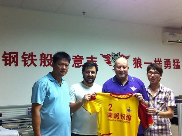 ▲巴西教練阿迪爾(右2)。(圖/翻攝Adil Amarante Futsal Coach)