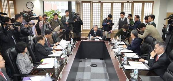 ▲MBC董事會通過解除社長職務。(圖/達志影像)
